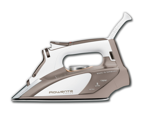 Rowenta DW5080 Focus Steam Iron 1700W, 400 Micro Steam Hole Soleplate, Precision Tip, 3 Way Auto Shut Off, Anti Calc, Self Cleaningnohtin