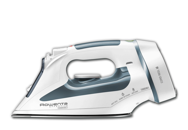 Rowenta DW2090 Effective Comfort Steam Iron, 300 Holes, 1500W, Cord Reelnohtin