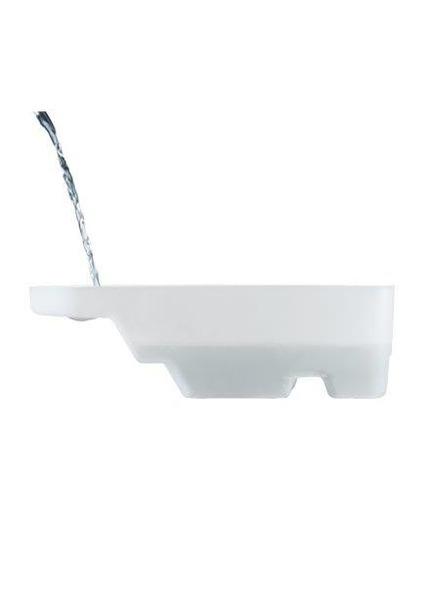 Laurastar 563.0003.750 Flushing Drain Tray for Laurastar i-S6, i-S5, S4e, S4, S3nohtin