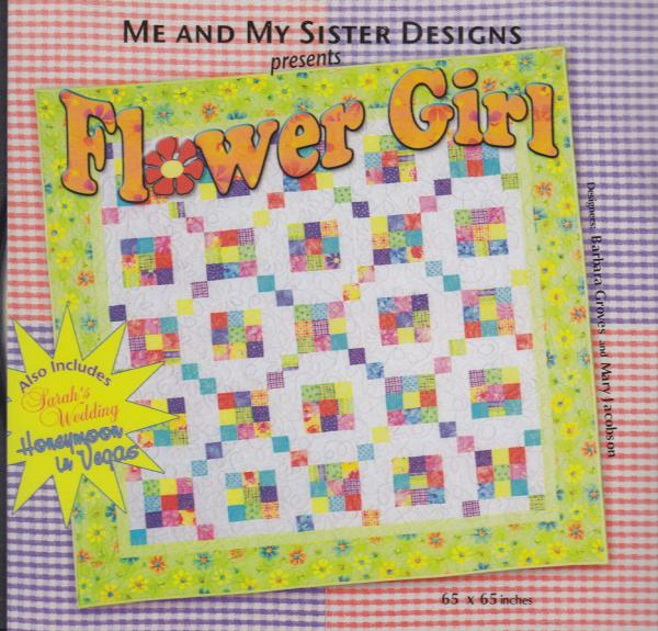 Me and My Sister Designs Flower Girl Pattern CD, 65 x 65 Inches, 2 Bonus Designs