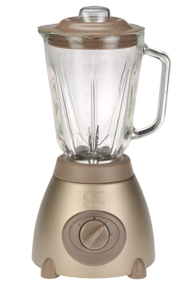Kalorik BL16911MY Maya Blender, Brushed Stainless Steel Body, 48oz. Capacity, SS Steel Blade, 6 Blades, 4 Settings, Removable Filter