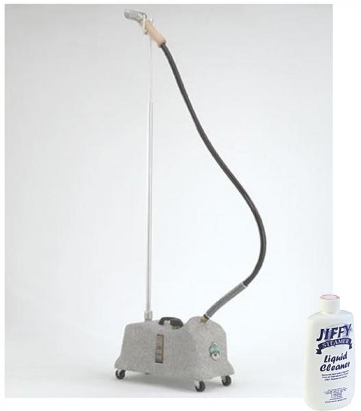 Jiffy J-4000M Commercial Fabric Garment Upholstery Steamer +Tank Cleannohtin