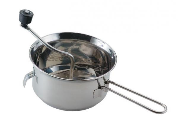 Foley 50024 2 Quart Food Mill, Stainless Steel, Great for canning, applesauce, and mashed potatoes, Perfect for mashing, straining, grating and ricing