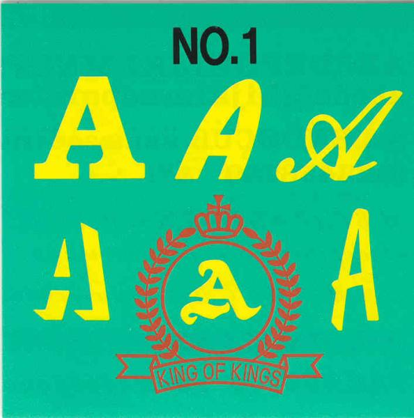 Brother SA298 No.1 Alphabet Lettering Embroidery Monogram Card 6 Fonts