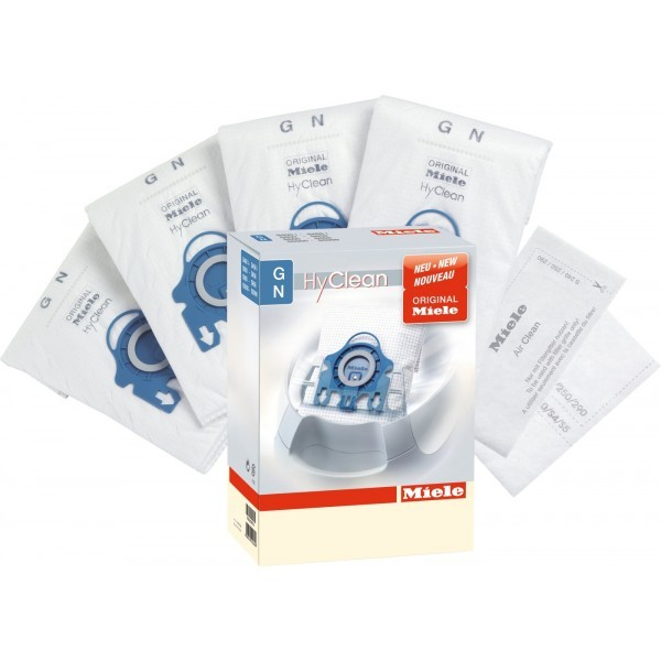 Miele 09338530 Type GN AirClean 9 Layer Fleece Dust Bags Pack of Fournohtin