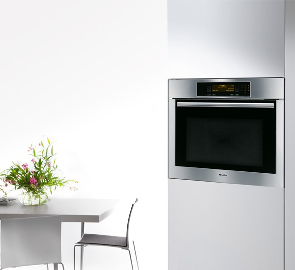 "Miele H4784BP Convection Oven, 27"", Built-In, MasterChef Series, Stainless Steel"
