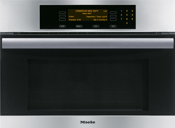 "Miele H4084BM Convection Speed Oven, 24"", Built-In, MasterChef Series, Stainless Steel"