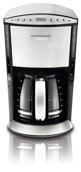 Krups KM720D50 12 Cup Glass Filter Coffee Maker