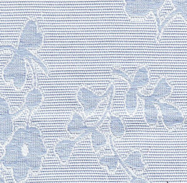 "Bear Threads Pique Jacquard Floral Blue 10Yd Bolt 100% Swiss Cotton 60"" Widenohtin"