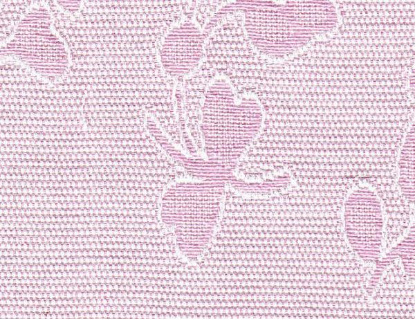 "Bear Threads Pique Jacquard Floral Pink 10 Yd Bolt 100% Swiss Cotton 60"" Widenohtin"