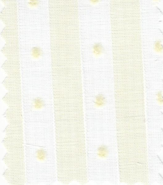 "Bear Threads Swiss Voile Stripe Dotted Swiss Maise 10 Yd Bolt 38.99 A Yd 100% Cotton 63"" Widenohtin"