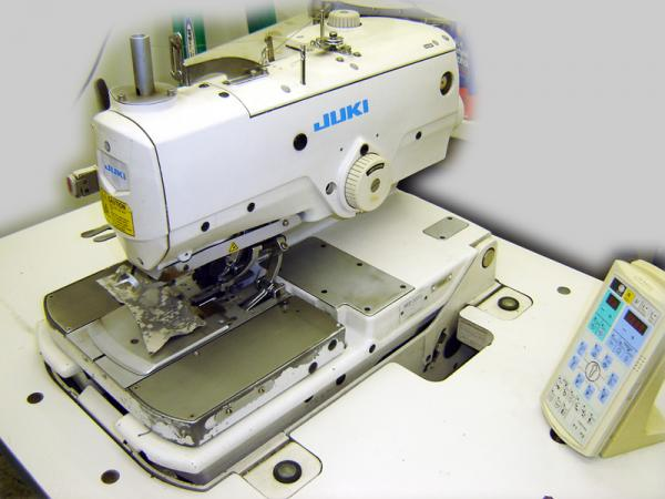 Juki MEB 3200J Trousers Keyhole Eyelet Buttonhole, Industrial Top Bottom Thread ChainStitch Sewing Machine, Panel, Stand, AutoCut, ThreadTrim FootLiftnohtin Sale $19995.00 SKU: MEB 3200J :
