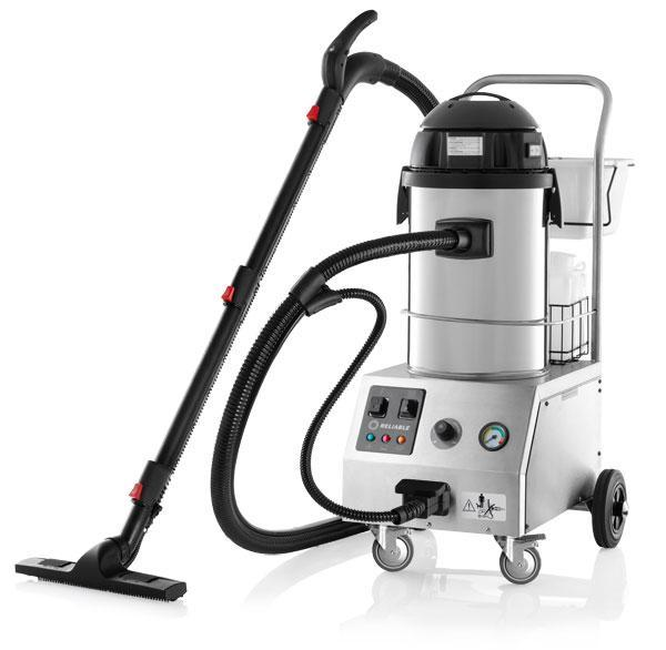 Reliable Enviromate Flex EF700 Commercial Steam Inject Extract Wet Dry Vacuum - Factory Servicednohtin Sale $2789.00 SKU: EF700RB :