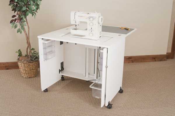 Fashion Roberts 7500 Sewing Machine Cabinet, Electric Lift