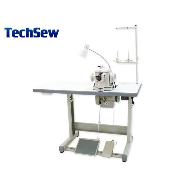 Techsew 402 Heavy Fur Disc Feed Sewing Machine, Power Stand, for Heavy Weight Sheepskin, Leather, Suede, Mink, Fox, Coat, Jacket, Glove, Slippersnohtin