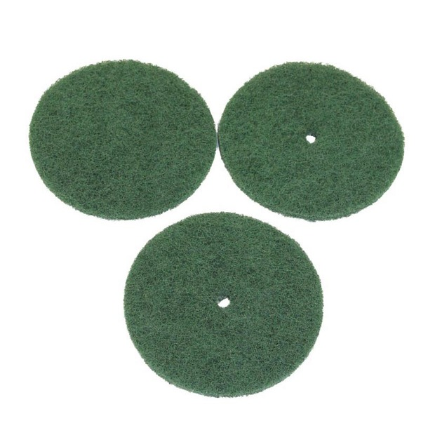 Electrolux EXR-2425 Replacement Green Scrub Pads for Buffer Poliisher Machinesnohtin