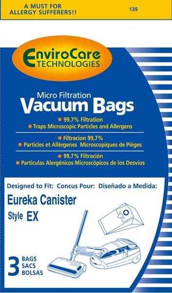 Eureka Replacement Er-1435 Paper Bag, Eur Style Ex Microfilter Env 3Pknohtin