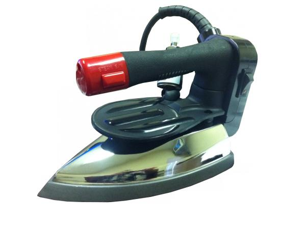 Pacific Steam PSI-5E Gravity Feed Iron, Hose, Iron Rest, Demineralizer