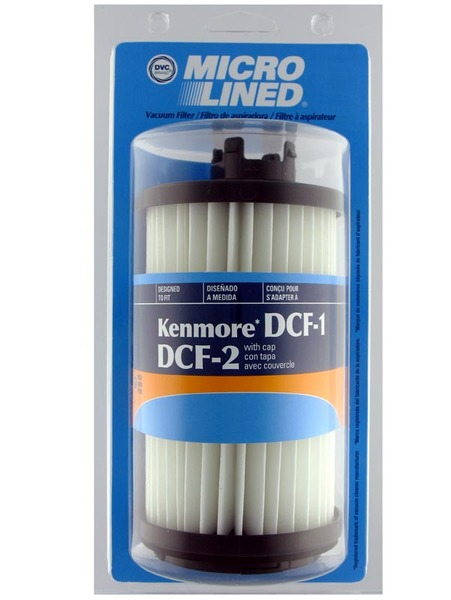 Kenmore Replacement Ker-1810 Filter, Dcf1 Dcf2 Tower Hepa 82720 Dvcnohtin