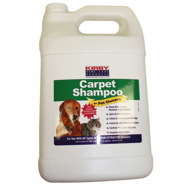 Kirby K-237907 Carpet Cleaner Extractor Shampoo 1 Gallon for Pet Ownersnohtin