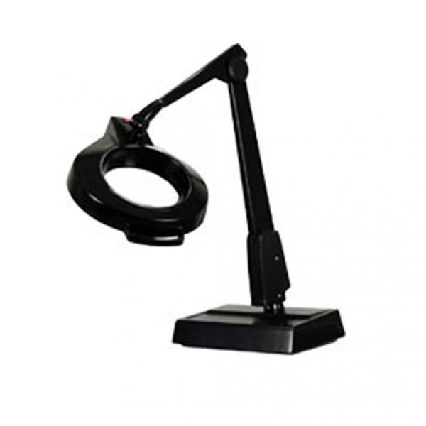 Dazor MC100 Desk Lamp 175% Magnifier Light, Weighted Base, 26