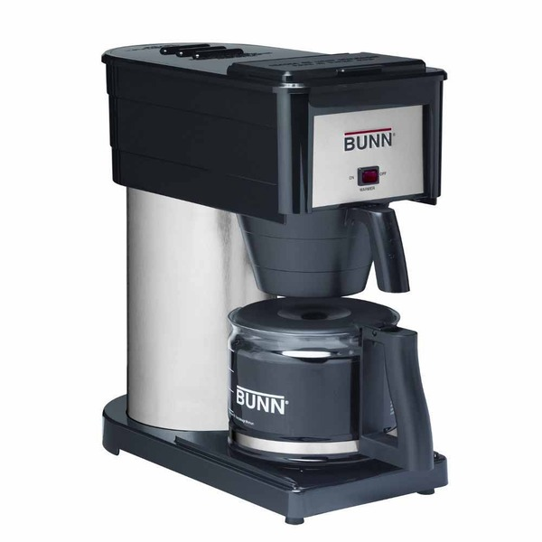 Bunn BXBD Velocity Brew High Altitude 10-Cup Home Brewer, Black Coffee Machine