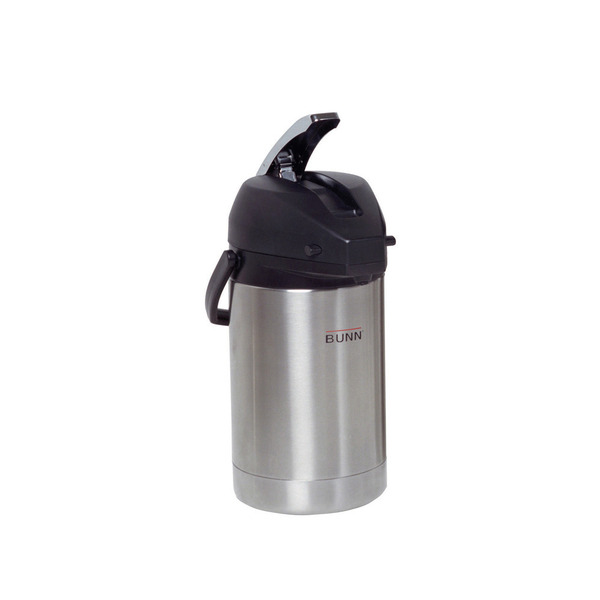Bunn 32125 2.5 Liter Lever-Action Airpot, Stainless Steel Coffee Machine