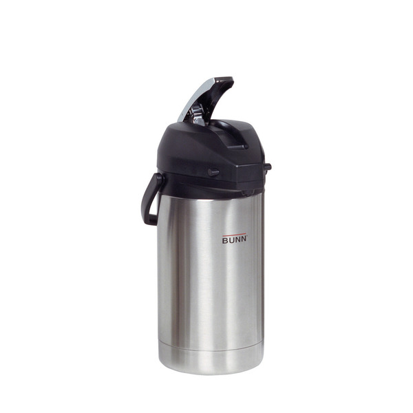Bunn 32130 3.0 Liter Lever-Action Airpot, Stainless Steel Coffee Machine