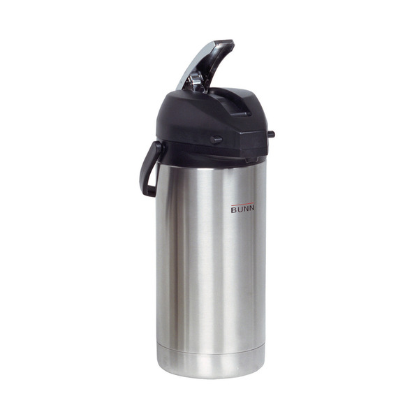 Bunn 36725 3.8 Liter Lever-Action Airpot, Stainless Steel Coffee Machine