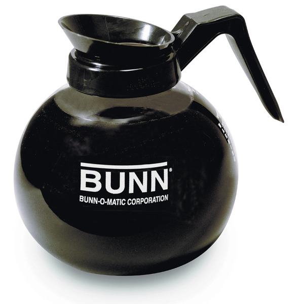 Bunn 42400 12-Cup Glass Decanter, Black Coffee Machinenohtin