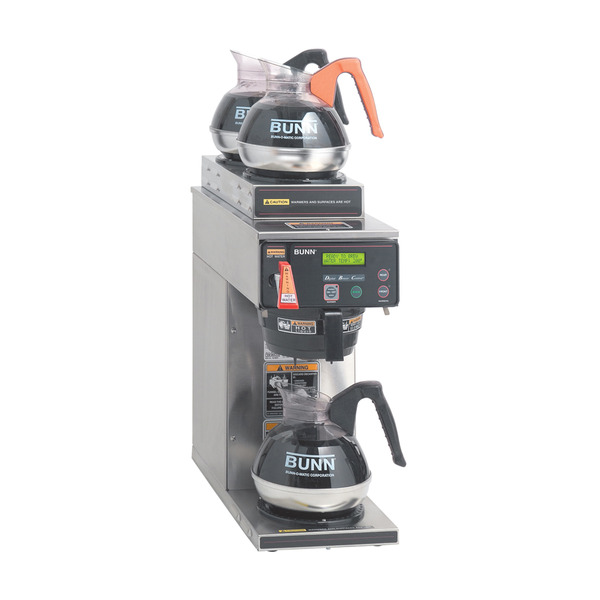 Bunn AXIOM-15-3 12-Cup Digital Automatic Coffee Brewer with LCD Coffee Machine