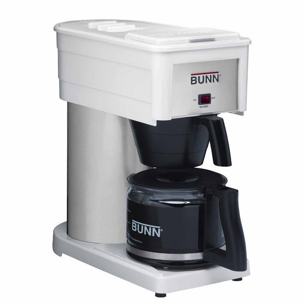 Bunn BXWD Velocity Brew High Altitude Classic 10-Cup Home Brewer, White Coffee Machine