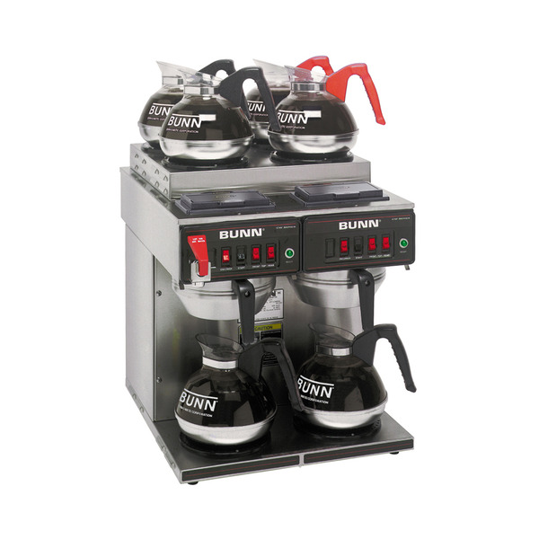 Bunn CWTF 4/2 Twin 12-Cup Automatic Coffee Brewer Coffee Machinenohtin