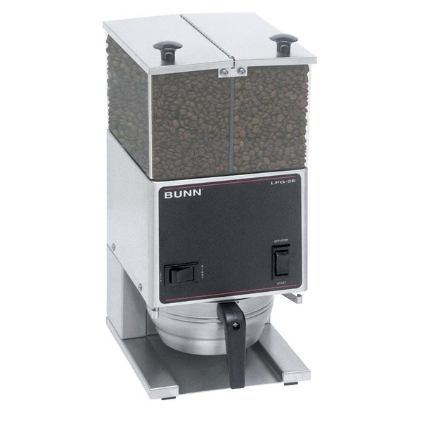 Bunn LPG2E Low Profile Portion Control Grinder with 2 Hoppers Coffee Machinenohtin Sale $1099.00 SKU: LPG2E :