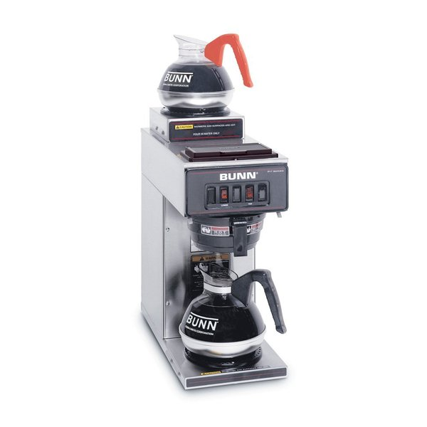 Bunn VP17-2 SS Pourover Commercial Coffee Brewer with Two Warmers, Stainless Steel Coffee Machinenohtin