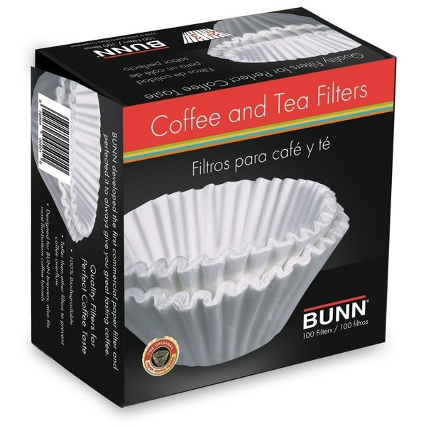 Bunn BCF100-B 100-Count Coffee and Tea Filters Coffee Machinenohtin