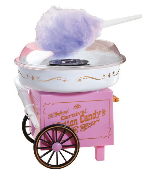 Nostalgia Electrics CCM905 Vintage Collection Old Fashioned Carnival Hard & Sugar-Free Cotton Candy Maker