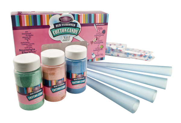 Nostalgia Electrics FCK800 Flossing Sugar Cotton Candy Kit