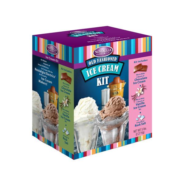 Nostalgia Electrics ICK200 Old Fashioned Ice Cream Kit