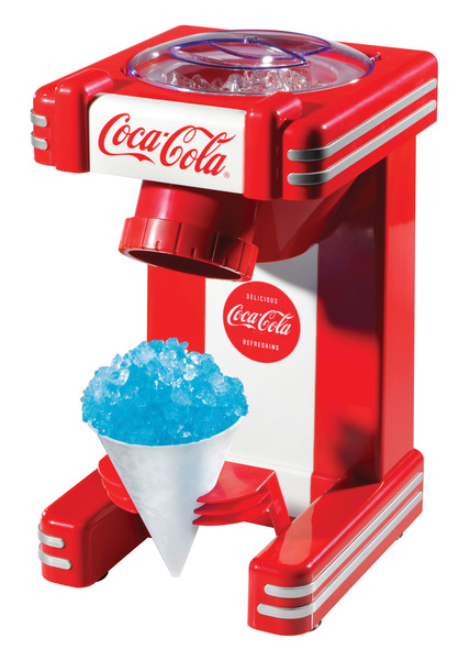 Nostalgia Electrics Coca-Cola Series RSM702COKE Single Snow Cone Makernohtin