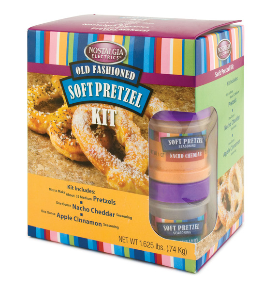 Nostalgia Electrics SPK300 Soft Pretzel Kit
