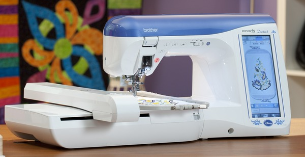 "Brother NV4750D Demo Duetta2 487 Stitch Sewing Quilting 7x12"" Embroidery Machinenohtin"