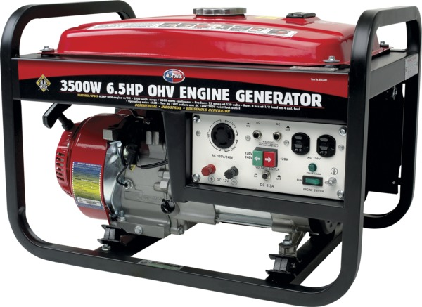 All Power APG3001 3500W 6.5 HP 196cc Generator, Deluxe Side Panel
