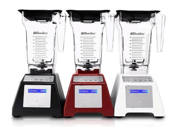 Blendtec Total 96oz WildSide 64oz FourSides WHITE Blender Bonus Pack Home HP3A Smoothie Maker, Green Smoothie Maker