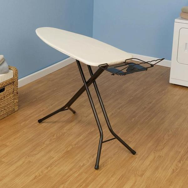 Household Essentials Ironing Board Mega Wide Top, 4 Legs 28mm Diameternohtin