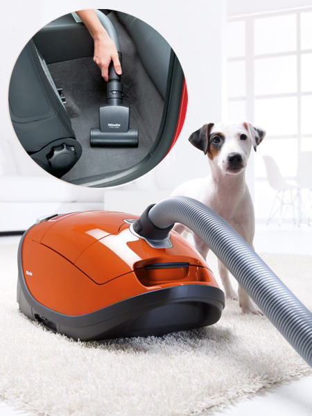 Miele Complete C3 Cat & Dog Canister Vacuum Cleaner Lotus White, 7 Year Motor Warrantynohtin