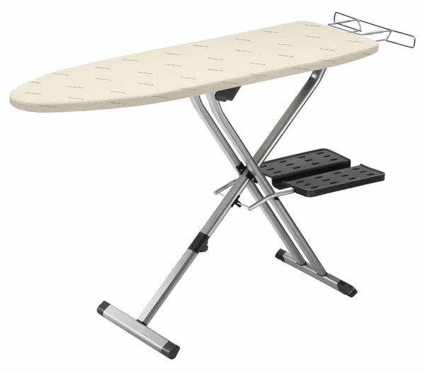 "Rowenta IB9100D1 Professional Compact Ironing Board 54x18""+Hot Iron Rest +$13.50 Iron Soleplate Cleaner +$5 Mary Ellen Spray Starchnohtin"