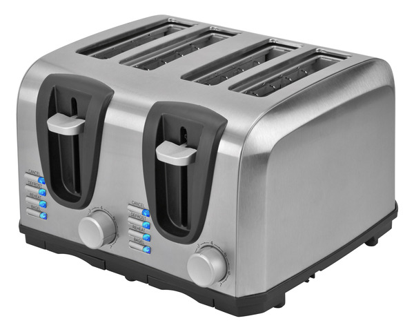 Kalorik 4 Slice Stainless Steel Toaster TO 37896 SS