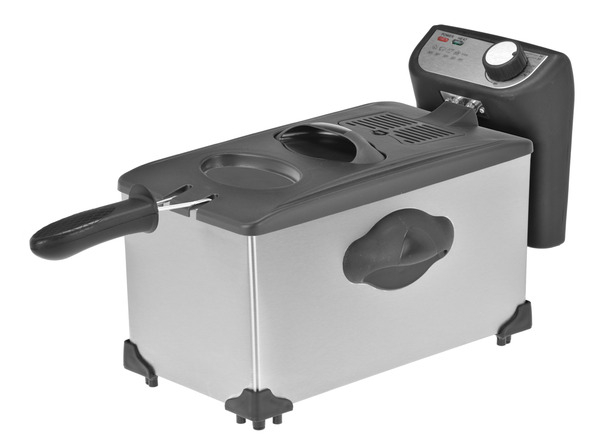 Kalorik 4Qt Stainless Steel Deep Fryer FT 36673
