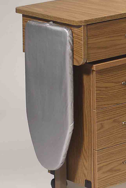 Fashion Cabinets Of America 104 Ib10 Ironing Board With Heat Resistant Cover Folds Flat On Door